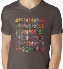 8-bit Masters Men's V-Neck T-Shirt