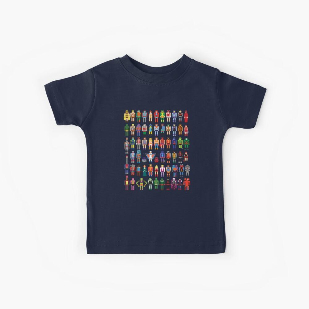 Maestros de 8 bits Camiseta para niños
