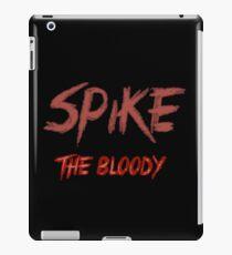 Spike the bloody (william)  iPad Case/Skin