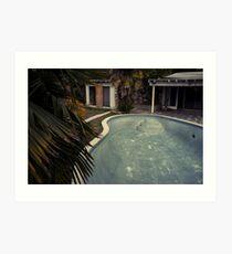 Gonzales Pool by Sam Muller Art Print