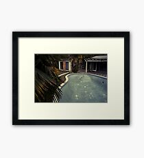Gonzales Pool by Sam Muller Framed Print