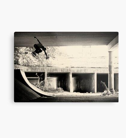 Jason Dill backside ollie by Sam Muller Metal Print