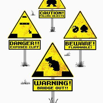 Super Sign Bros. by cactusrobtees
