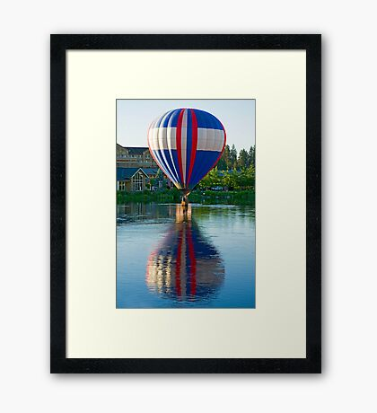 Double Dipping Framed Print