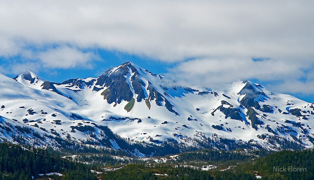 Chugach Mountains by Nick Boren
