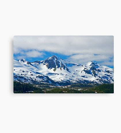 Chugach Mountains Canvas Print