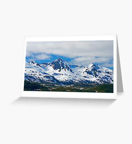Chugach Mountains Greeting Card