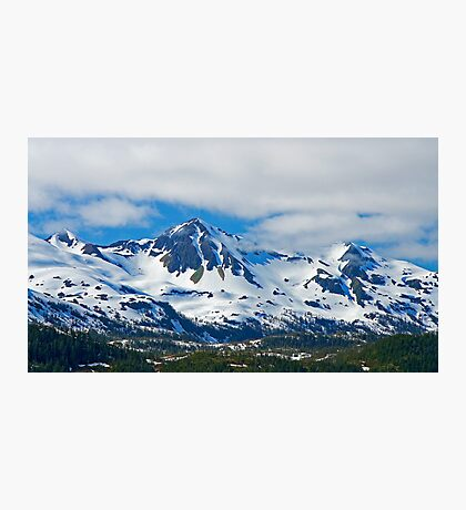 Chugach Mountains Photographic Print