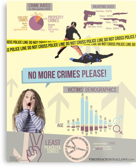 No More Crimes Infographics by smithdanna