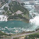 Niagara From Above by yuliekayy