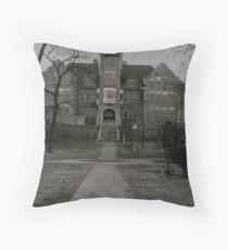Empty School  Throw Pillow