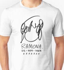 Ramona Flowers Slim Fit T-Shirt