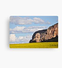 Mt Arapiles and canola field Canvas Print
