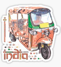 I LOVE INDIA T-shirt Sticker