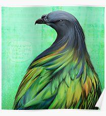 Bird Notes: Dissolve Poster