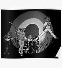 The Hoo Black and White Version (The Kids Owl Alright) Poster