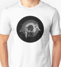 The Hoo Black and White Version (The Kids Owl Alright) Unisex T-Shirt