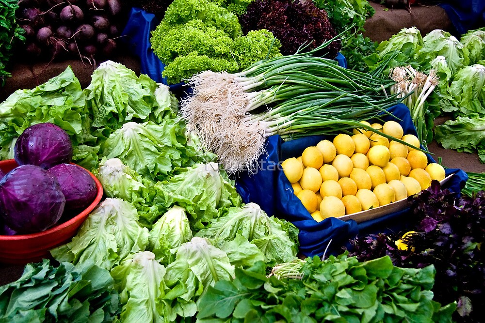 Fresh Organic Vegetables  by Kuzeytac
