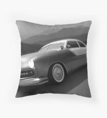Moonlight Cruiser Throw Pillow