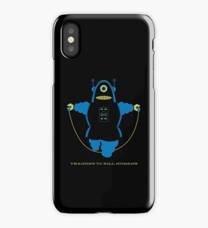 Kill Humans 4 iPhone Case