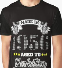 made in 1956-aged to perfection Graphic T-Shirt