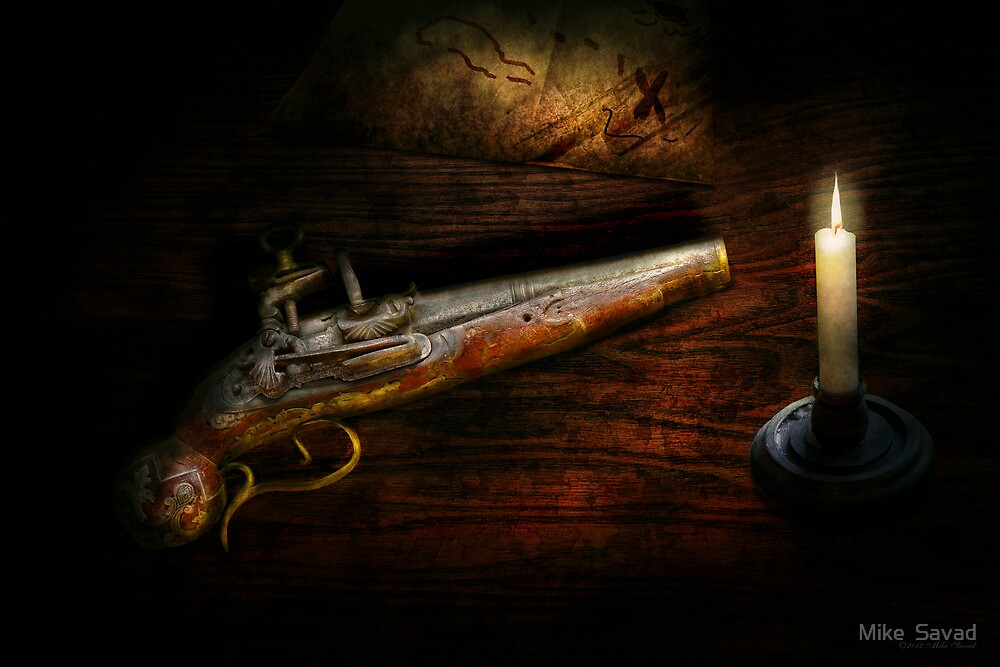 Gun - Pistol - Romance of pirateering by Michael Savad