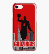 Godzingis - Red iPhone Case/Skin