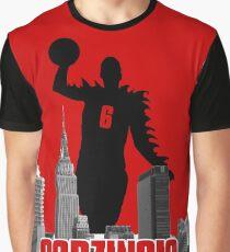 Godzingis - Red Graphic T-Shirt