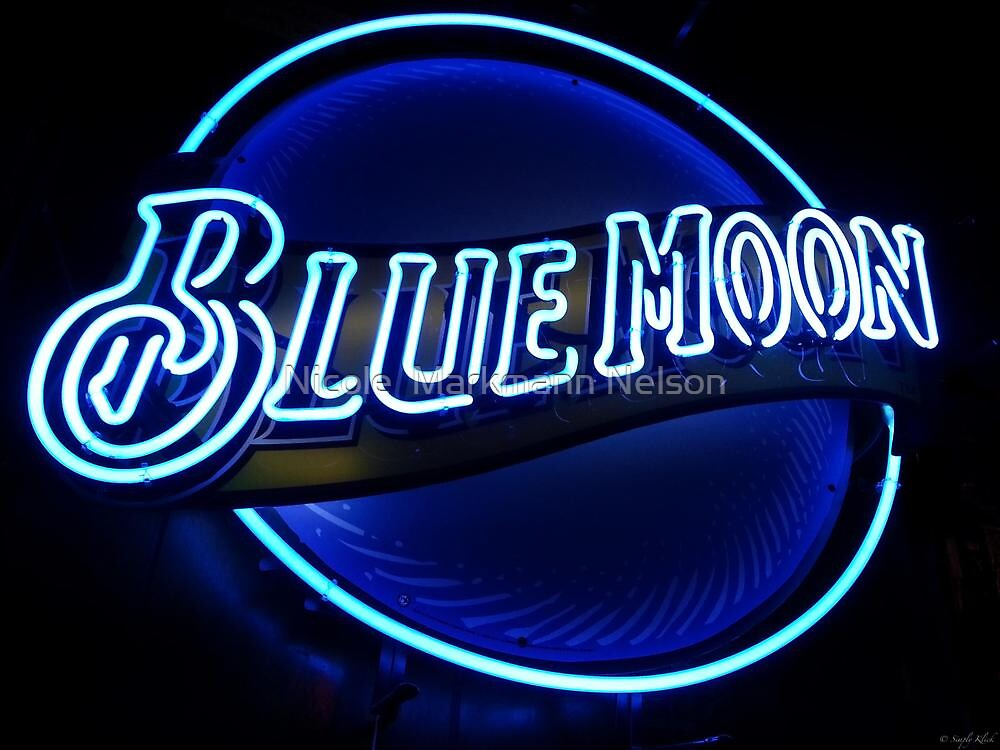 Blue Moon (2) by Nicole  Markmann Nelson