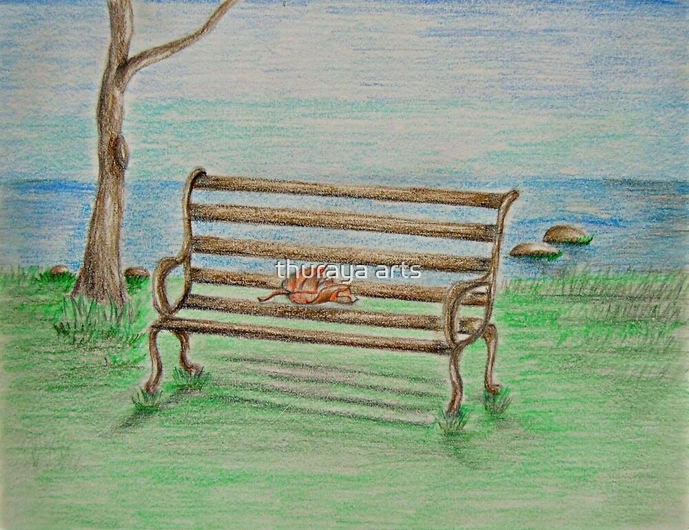 Bench by thuraya arts