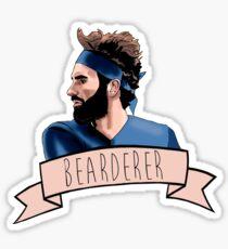BEARDERER Sticker