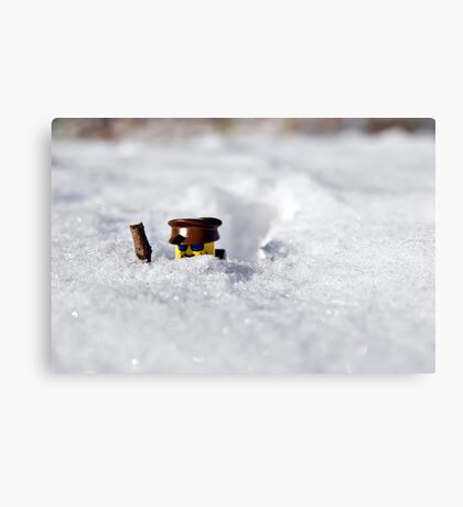 Deep Snow Metal Print