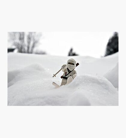 Ski Ninja Photographic Print