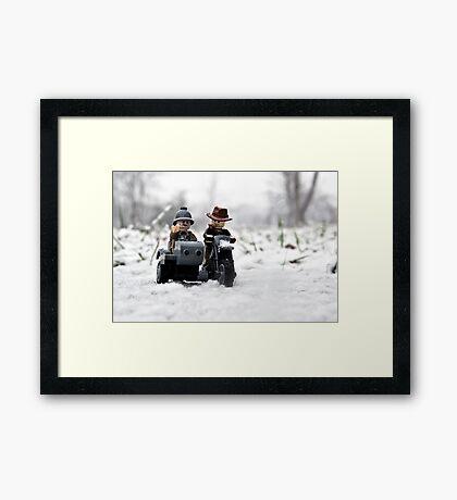 Sr. & Jr. Framed Print