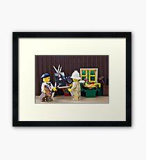 Interpretive Works Framed Print