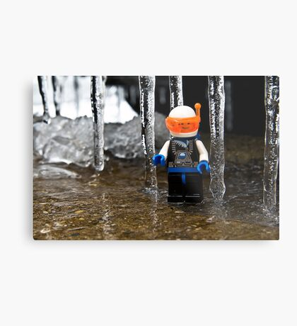 Ice World Metal Print