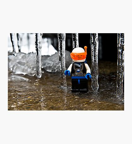 Ice World Photographic Print