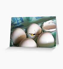 Hatched Greeting Card