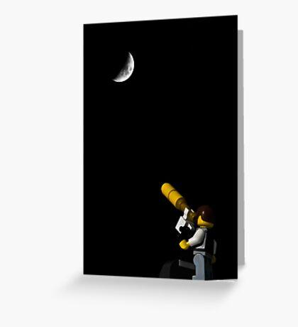 Telescope Greeting Card