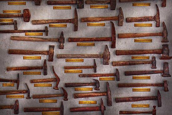 Blacksmith - Tools - Pounding headache  by Michael Savad