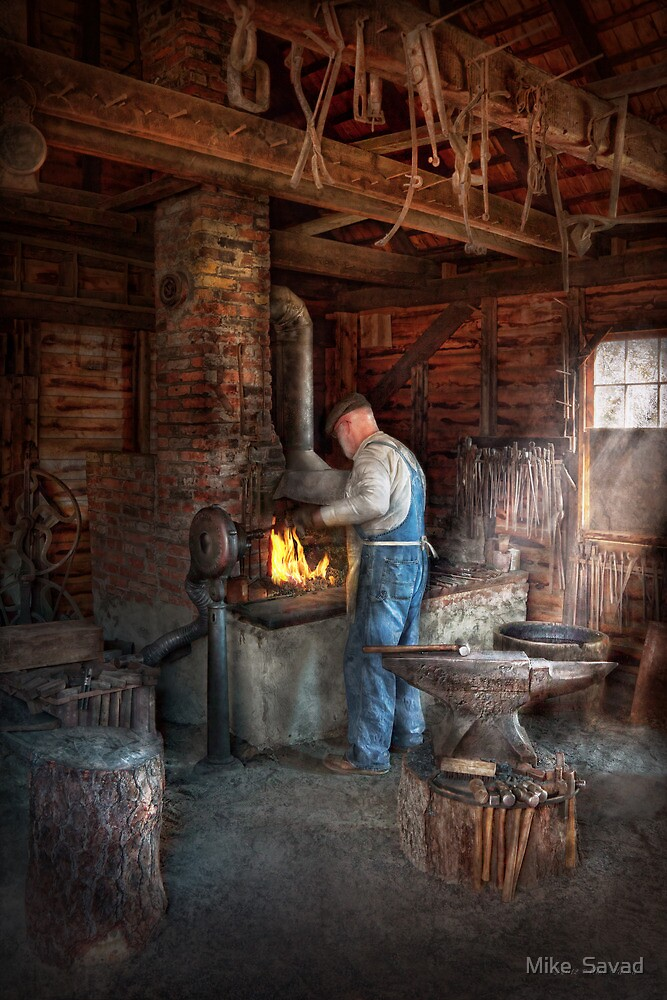 Blacksmith - The importance of the Blacksmith by Michael Savad