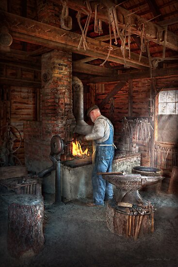 Blacksmith - The importance of the Blacksmith by Michael Savad