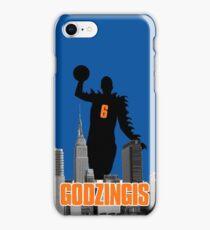 Godzingis- Blue iPhone Case/Skin
