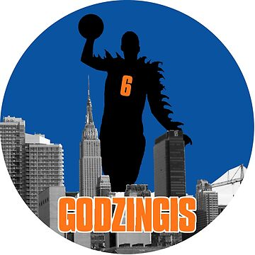 Godzingis- Blue by scribbledeath