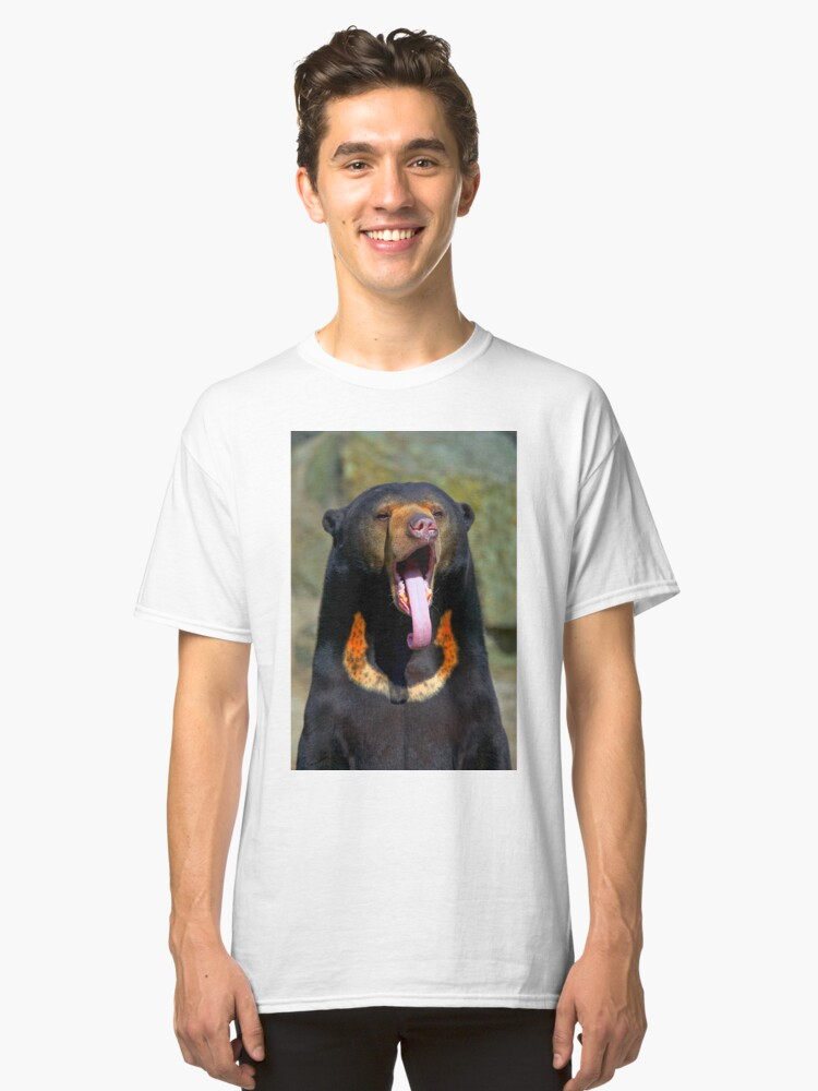 Alternate view of Sun Bear Classic T-Shirt