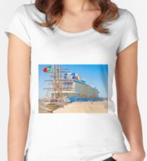anthem of the seas and sagres Women's Fitted Scoop T-Shirt