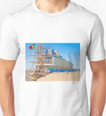 anthem of the seas and sagres Unisex T-Shirt