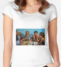 Family Portrait    - on shown at The Portrait Salon 2015 Women's Fitted Scoop T-Shirt