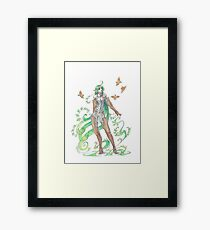 plant elf Framed Print