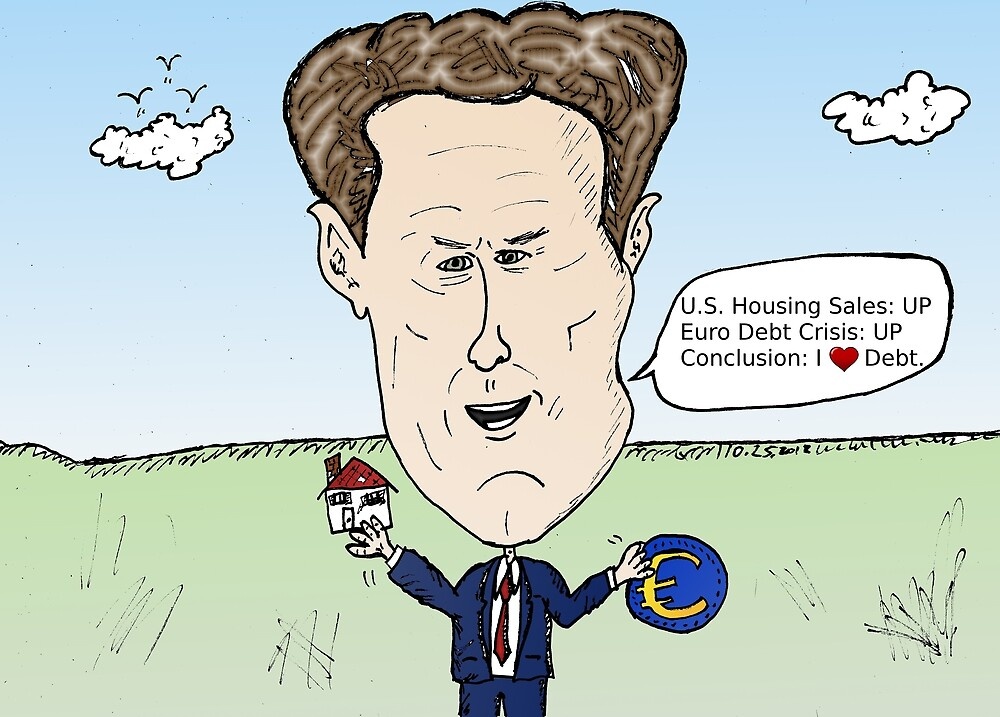 American Treasury Secretary Timothy Geithner political cartoon by Binary-Options